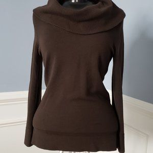 LOFT - Chocolate Brown Pull-Over Sweater
